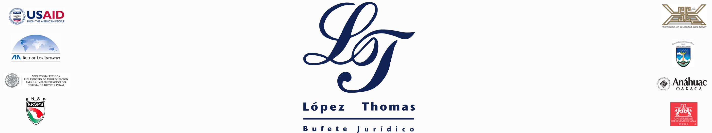 Bufete Jurídico López Thomas Logo