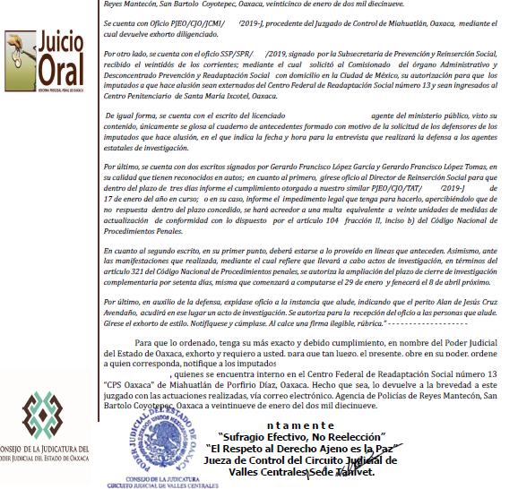 Código Nacional de Procedimientos Penales. Estudio temático (LVIII)